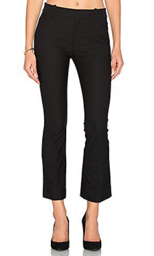 Укороченные расклешенные брюки DEREK LAM 10 CROSBY. Цвет: черный