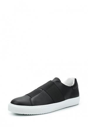Слипоны Armani Jeans. Цвет: черный