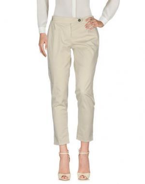 Повседневные брюки ANOTHER LABEL. Цвет: светло-серый