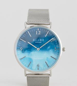 Reclaimed Vintage Серебристые часы с сетчатым браслетом Inspired экскл. Цвет: серебряный