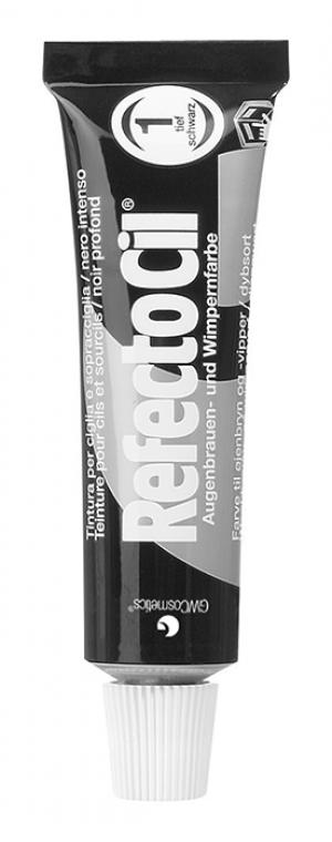 Окрашивание бровей Refectocil Черный. Цвет: черный