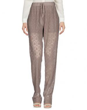Повседневные брюки EMMA&GAIA. Цвет: голубиный серый