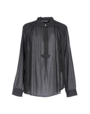 Блузка BELLA JONES. Цвет: свинцово-серый