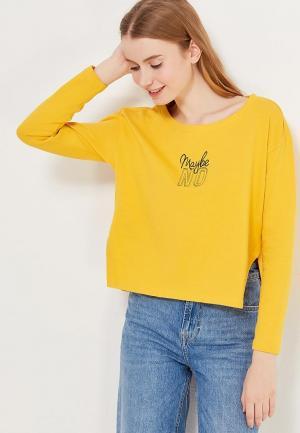 Свитшот OVS. Цвет: желтый