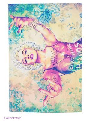Обложка для автодокументов Мерлин-Мадонна Mitya Veselkov. Цвет: сиреневый, желтый, белый