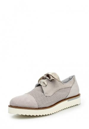 Ботинки Lamania. Цвет: серый