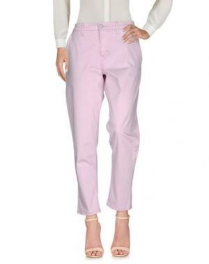 Повседневные брюки HUDSON. Цвет: розовый
