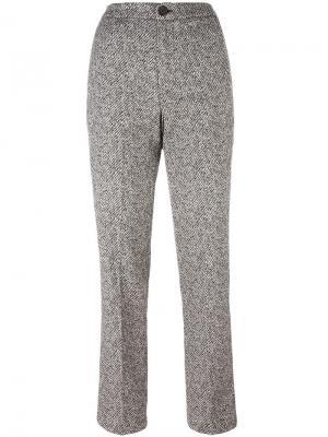 Укороченные брюки Erika Cavallini. Цвет: чёрный