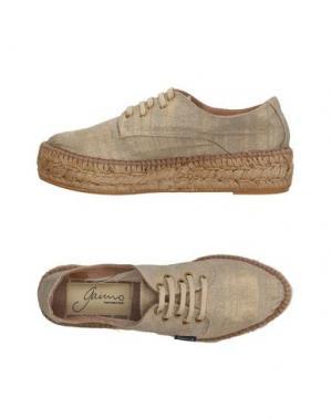 Низкие кеды и кроссовки GAIMO. Цвет: серый