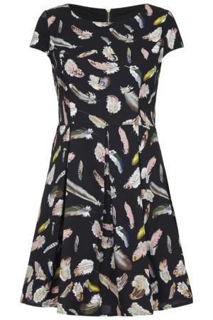 Платье Iska. Цвет: multicolor