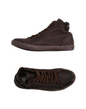 Высокие кеды и кроссовки PANTOFOLA D'ORO. Цвет: темно-коричневый
