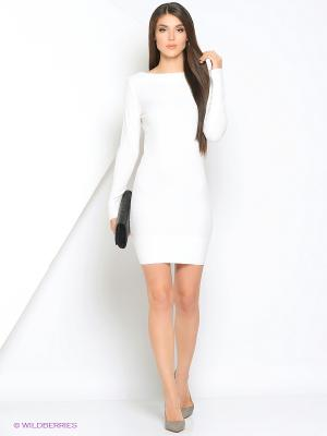 Платье Monlaydia. Цвет: белый