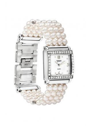 Часы 181706 Nasonpearl. Цвет: белый