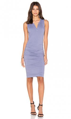 Платье himira Velvet by Graham & Spencer. Цвет: серый
