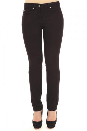 Классические джинсы Via Appia. Цвет: чёрный