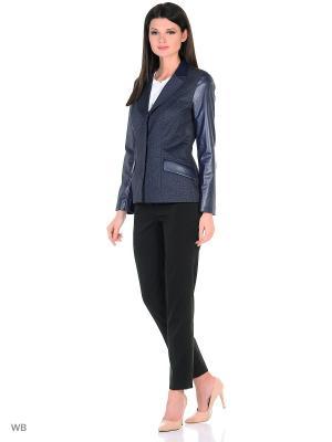 Пиджак EMILLIEN. Цвет: черный, темно-синий