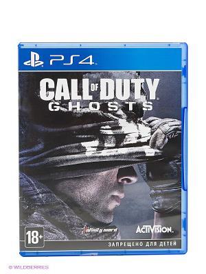 Call of Duty Ghosts. Игра на английском языке (рус. док.) (PS4) НД плэй. Цвет: темно-серый, хаки