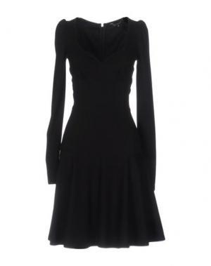 Платье до колена TARA JARMON. Цвет: черный