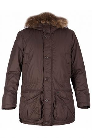Куртка Harmont&Blaine. Цвет: коричневый