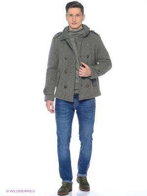 Пальто WHITNEY. Цвет: серый