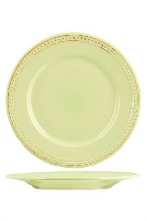 Тарелки десертные 20,5 см 6 шт H&H. Цвет: салатовый