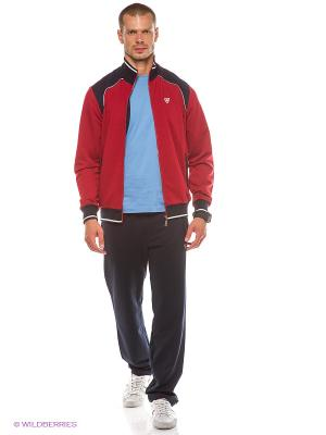 Спортивный костюм RED-N-ROCK'S. Цвет: бордовый, темно-синий