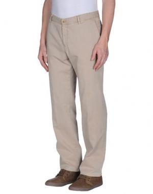 Повседневные брюки REPORTER. Цвет: песочный