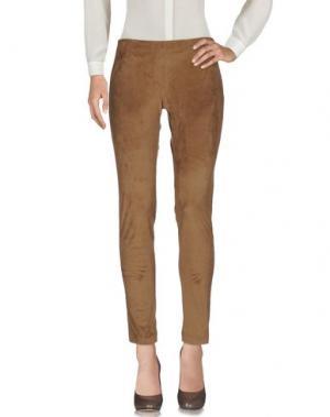 Повседневные брюки CARLA G.. Цвет: коричневый