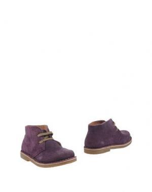 Полусапоги и высокие ботинки OCA-LOCA. Цвет: фиолетовый