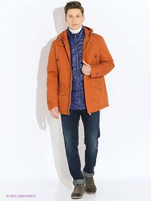 Куртка VIVACANA. Цвет: оранжевый
