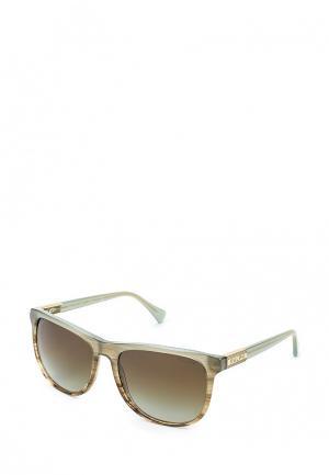 Очки солнцезащитные Ralph Lauren. Цвет: зеленый