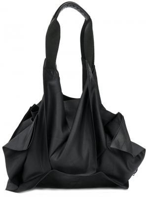 Структурная сумка 132 5. Issey Miyake. Цвет: чёрный