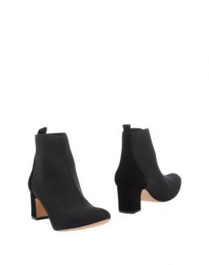 Полусапоги и высокие ботинки ANCARANI. Цвет: черный