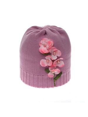 Шапка Solorana. Цвет: розовый