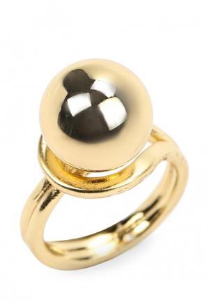 Кольцо Modis. Цвет: золотой
