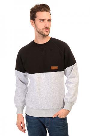 Толстовка свитшот  Crewneck Combo Grey Anteater. Цвет: серый