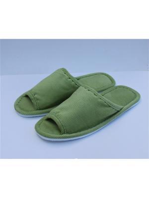 Тапочки TAP MODA. Цвет: светло-зеленый