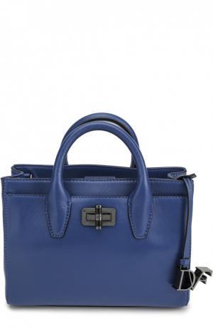 Сумка Viviana mini Diane Von Furstenberg. Цвет: синий
