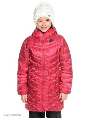 Пальто CASCADE PARKA-550 Nike. Цвет: бордовый
