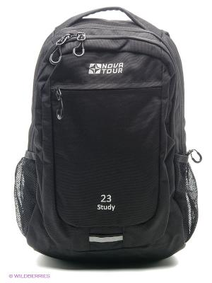 Рюкзак деловой Стади 23 Nova tour. Цвет: черный