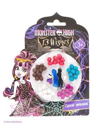 Набор Сделай украшение: браслеты Monster High Centrum. Цвет: черный, розовый, фиолетовый