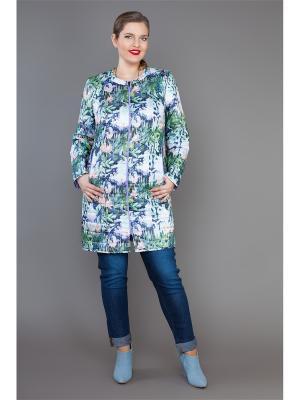 Пальто Lady Sharm Classic. Цвет: светло-зеленый