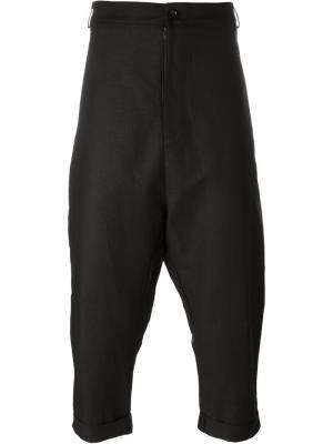 Свободные брюки Alchemy. Цвет: чёрный
