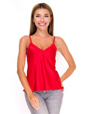 Блузка Adelin Fostayn. Цвет: красный