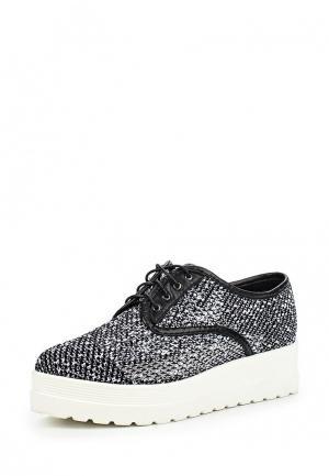 Ботинки Calipso. Цвет: черно-белый