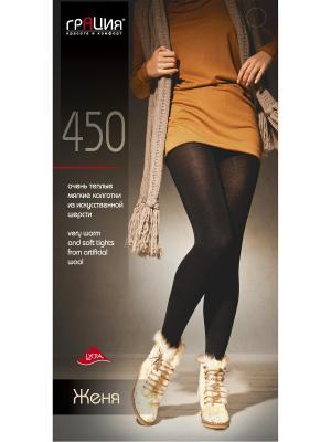 Колготки женские Женя 450 XL Грация. Цвет: черный