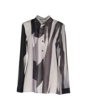 Pубашка DAGMAR. Цвет: светло-серый