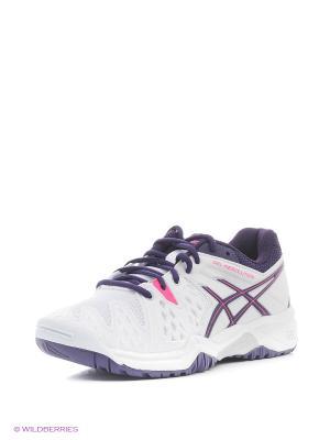 Спортивная обувь GEL-RESOLUTION 6 GS ASICS. Цвет: белый, фиолетовый