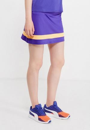 Юбка Mizuno. Цвет: фиолетовый