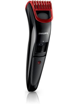 Триммер Philips QT3900/15 для стрижки и подравнивания бороды. Цвет: черный